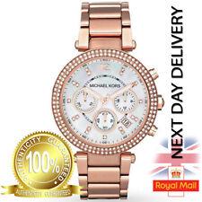 Michael Kors Parker Chronograph Watch MK5491 Crystals/rose Gold
