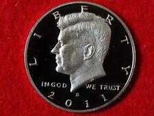 2011 S  KENNEDY PROOF 90% SILVER DEEP CAMEO GEM HALF DOLLAR   #3R