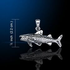 Whale Shark .925 Sterling Silver Pendant by Peter Stone