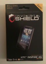 NEW IN BOX Zagg Invisible-Shield for HTC 4G Cell Phone LCD Screen Protector