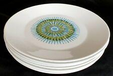 Vintage J & G MEAKIN STUDIO Aztec Dinner Plate x 6 1960's 1970's Retro Mod
