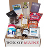 Box of Maine 7 item Gift - Fluff, Whoopie Pie, Humpty Dumpty Chips Blueberry Jam
