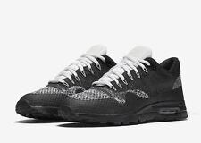 Nike Air Max 1 Ultra Flyknit Black White Oreo Uk Size 7.5 859517-001