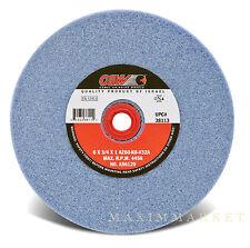 "6""x3/4""x1"" CGW Premium Blue Aluminum Oxide Bench Grinding Wheel Grit-60"