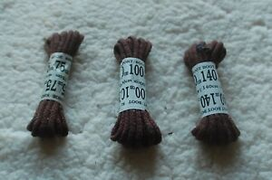 Shoe Boot Strong Round Laces Black or Brown  75,100,140 cm Free Postage