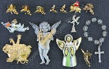 Bow & Quill + Other Angel Jewelry Jj Jonette Jewelry Pewter Angel with Golden