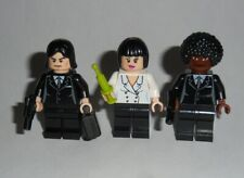 MOVIE #15 Lego Pulp Fiction Vincent, Jules & Mia Genuine Lego Parts
