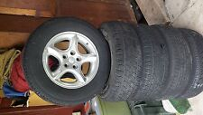 60th anniversary jeep rims, 16 inch in great shape with good tires