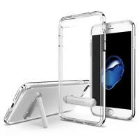 Spigen Apple iPhone 7 Plus [Ultra Hybrid S Clear] Shockproof TPU Kickstand Case