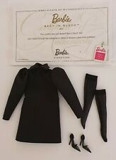 Barbie Puppe poupée muneca superstar SILKSTONE BEST IN BLACK 2 OUTFIT whitney pj