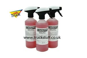 Chrome(NW) 'Wheel Brite' wheel cleaner for TRUCKS  3 for £16 FREE Postage