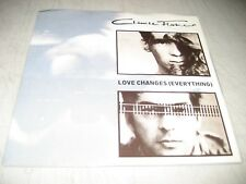 CLIMIE FISHER LOVE CHANGES EVERYTHING / NEVER CLOSE 45 NM Capitol B-44137 1987