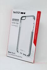 Tech21 Evo Mesh Case Cover for iPhone 6 Plus iPhone 6s Plus Gray/Clear - NEW !!!