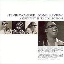 Stevie Wonder : Song Review: A GREATEST HITS COLLECTION CD (1998)