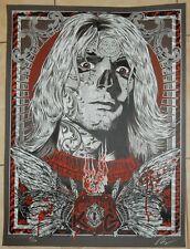 Kurt Cobain Nirvana Fallen Spirit Poster S/N 97/150 Rhys Cooper