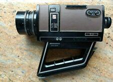 GAF ST/602 Super 8 Movie Camera Vintage Brown and Black