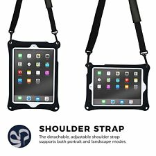 Apple iPad Pro 12.9 2017 Case Stand Shockproof Shoulder Strap Heavy Duty Cover