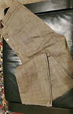 George McCracken M-82 Olive Drab Japan Selvedge Button Fly Slim Jeans Men's 32*