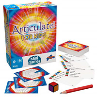 Drumond Park Articulate for Kids Mini Board Game, Travel Games for Kids, Compact