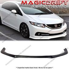 For 13-15 Honda Civic Sedan 4dr AS Aero Style Front Bumper Lip Chin Splitter Kit