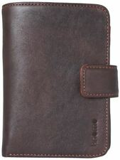 Knomo Brown Leather Wallet Case with iPhone 4  4S Pocket 90-944