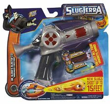 *UK* Slugterra Dr. Blakk's Blaster 2.0 Harbinger Firestorm + 2 Slugs + GAME CODE