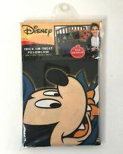 Disney Vampire Mickey Mouse Halloween Trick Or Treat Pillowcase Bag w/Handles