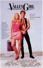 VALLEY GIRL Movie POSTER 11x17 B Nicolas Cage Deborah Foreman Colleen Camp