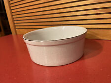 Crown Victoria Lovelace China White Round Bowl Oven to Table Ovenware Japan