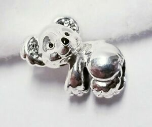 Authentic PANDORA Sterling Silver Koala Charm - 798431C01