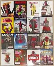 Deadpool 2 Photobomb set of 16 alternate slip covers Walmart exclusive Blu Ray