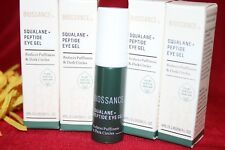 BIOSSANCE SQUALANE + PEPTIDE EYE GEL 4 SAMPLES 4ML EACH = FULLSIZE BOX AUTHENTIC