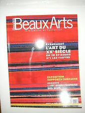 Beaux Arts Magazine N°170 Fauvisme Supports / Surfaces Maori Renzo Piano Kiefer