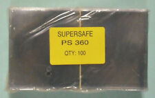SUPERSAFE - 100 / PACK COVER SIZE POLYESTER HOLDER - STANDARD WEIGHT  #SS-PS360