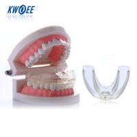 Hot 2Pcs Silicone Soft + Hard Orthodontic Retainer Teeth Corrector Straightening