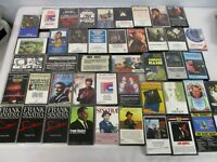 44 VINTAGE CASSETTES ~ JAZZ, SINATRA, CLASSICAL & MORE ~ GREAT ASSORTMENT
