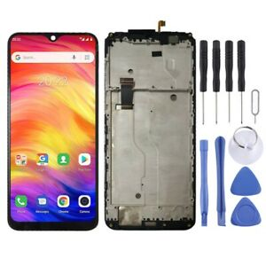 BLACK LCD Panel Screen Digitizer Full Complete Replacement For Ulefone Note 7