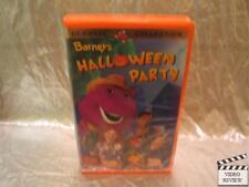 Barney - Barneys Halloween Party (VHS, 1998) Brand New