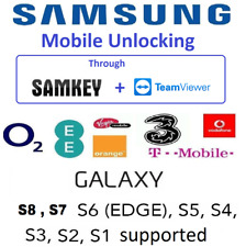 SAMSUNG GERMANY FRANCE EUROPE NETWORK UNLOCKING THROUGH SAMKEY S8 S7 S6 S5 S4