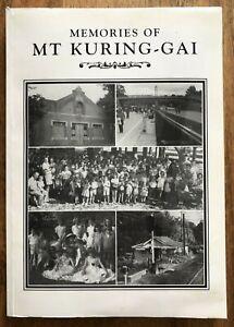 Memories of Mt Kuring-Gai John Clegg Settlers Subdivision Railway School History
