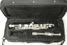 Schiller Elite Piccolo Flute Ebonite w/Silver Headjoint