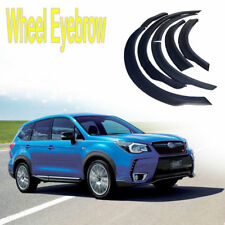 ABS Plastic Wheel Eyebrow Round Arc For Subaru Forester 2013-2016-2017 year