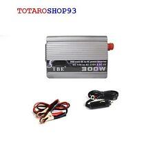 INVERTER 300W WATT TRASFORMATORE AUTO CAMPER DC 12V AC 220V CONVERTITORE