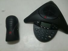 Polycom Soundstation 2 Conference Speaker Phone 2201 16000 001 With Wall Module