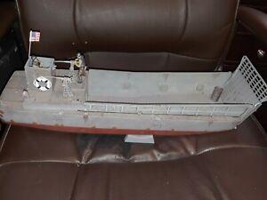 CONTE LCVP D-day landing craft. 60mm hard plastic