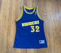 Golden State Warriors Vintage 90's Joe Smith Champion Jersey 44 Mens L EUC NBA