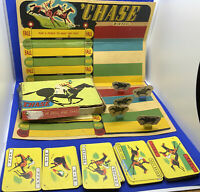 """Vintage """"Chase"""" Game Of Skill And  Chance """" Pepys Series Games """" London Comple"""