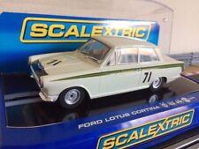 Scalextric rare Ford Lotus Cortina no71 Jim Clark (c2913) * car Comme neuf *