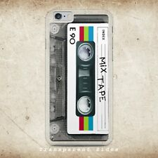 RETRO VINTAGE CASSETTE MIX TAPE PHONE CASE COVER SHELL FOR IPHONE SAMSUNG HUAWEI