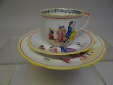 Trio of Foley Bone China Cup, Saucer and Plate